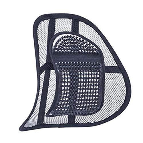 Siamed 2pezzi: Supporto lombare medico - Supporti per la schiena per lavoro, ufficio e auto - Cuscini per la correzione posturale