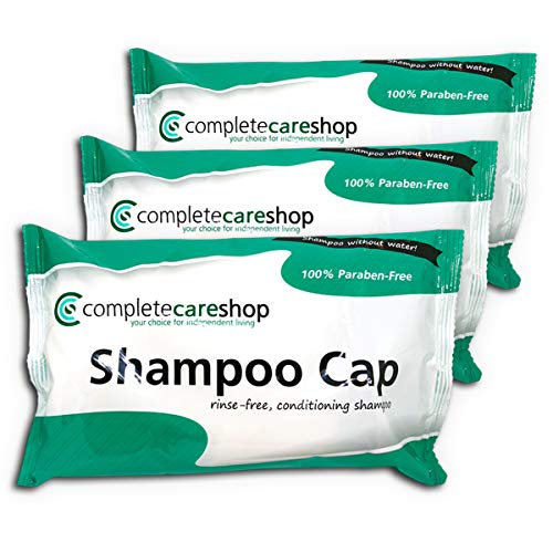 No Rinse Waterless Shampoo Caps - Triple Pack