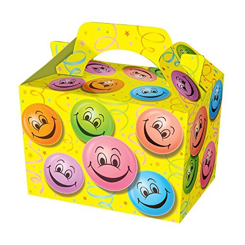 SUPER COOL KIDS PARTY BOXES - In a HAPPY FACE design (happy...