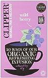 Clipper 20 Organic Wild Berry Infusion Tea Bag, 60g