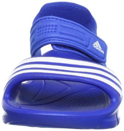 adidas Akwah 8, sandales enfant mixte Bleu - Blau (SATELLITE / RUNNING WHITE FTW / SATELLITE)