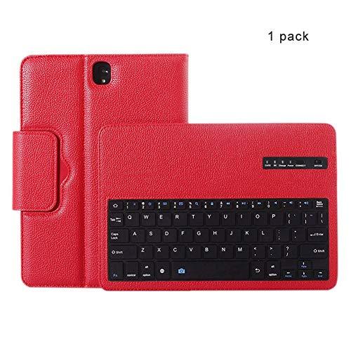 CAPTIANKN Tablet Split Bluetooth Tastatur für Samsung Galaxy 9.7-Inch Tab S3 Mit automatischem Schlaf,red - Split-tastatur-touchpad