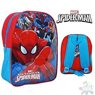 51i%2BSu105XL. SS324  - Marvel 1023ahv-5730t Ultimate Spiderman Mochila, 41cm