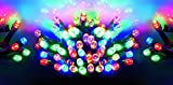 Premier 200 Multi Action Supabright Multi Coloured LED Lights with Green Cable