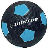 Fußball gummiert verschiedene Farben griffig mit Noppen Spiel Ball Größe 5 Indoor Outdoor (Blau)