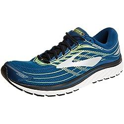 Brooks Glycerin 15, Zapatillas de Running para Hombre, (Blue/Lime/Silver 1d473), 42.5 EU
