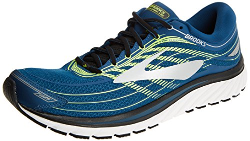 Brooks Glycerin 15, Scarpe da Running Uomo, Multicolore (Blue/Lime/Silver 1D473), 42 EU