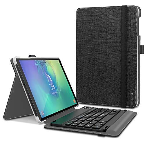 custodia con tastiera tablet Infiland Tastiera per Samsung Galaxy Tab A 10.1 2019