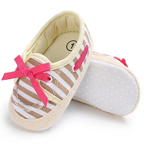 BZLine® Baby Kleinkind Niedliche Krippe Schuhe Komfort Schuhe Slippers Soft Schuhe Beige