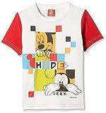 Mickey Boys' T-Shirt (DMW-03_Offwhite_7 ...