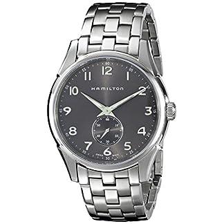 Hamilton Reloj Analogico para Hombre de Cuarzo con Correa en Acero Inoxidable H38411183