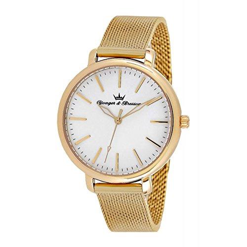 Reloj Yonger & Bresson Mujer Blanco–DMP 050/BM–Idea regalo Noel–en Promo