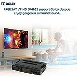 Free SAT V7 HD DVB-S2 Ricevitore Satellitare TV Digitale Radiodiffusione Decoder con Supporto USB PVR EPG per TV HDTV