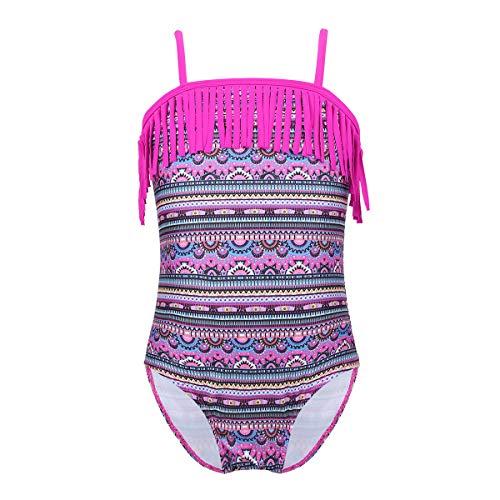 Alvivi Niña Traje de Baño Tirantes de Una Pieza Modo Estampado Bañador Chicas Tankini de Playa Bikini...
