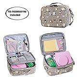 Teamoy Reisetasche Kompaktkamera Taschen für fujifilm instax Mini 9 und Mini 8, Sofortbildkamera Tasche für die Mitnahme von fujifilm instax Mini 9 und Kamera Zubehör, Katze -