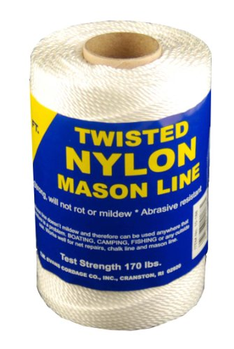 T.W, Evans, 10–248 number-24 Twisted Nylon Mason Line, 364-feet (Mason Bindfäden)