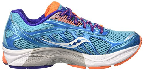 Saucony Phoenix 8 W, Entraînement de course femme Multicolore - Multicolore (Blue/Orange/Purple)