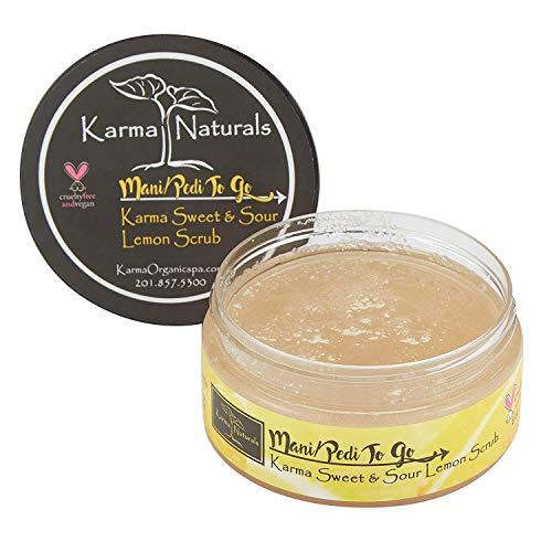 Karma Organic Natural Lemon Scrub - Huiles essentielles pour un teint parfait, éclatant et équilibré(Scrub)