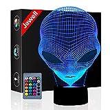 Jawell, lámpara luz nocturna, efecto 3D, diseño de Marciano, 7colores cambiantes, USB, decoración para mesa