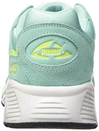 Puma Prevail, Scarpe da Ginnastica Basse Unisex – Adulto Blu (Aruba Blue-safety Yellow-puma White 05)