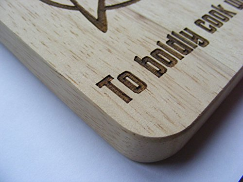 STAR TREK FAN TREKKIE CHOPPING CUTTING CHEESE BOARD PLACE MAT GIFT PRESENT