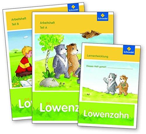 Löwenzahn - Ausgabe 2015: Arbeitshefte A und B mit Lernentwicklungsheft im Paket