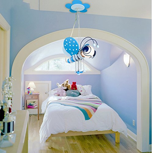 kinderzimmer kronleuchter jungen m dchen kind bee led. Black Bedroom Furniture Sets. Home Design Ideas