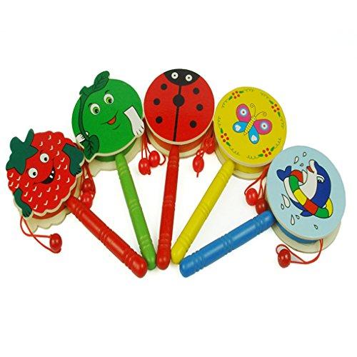 qhgstore-baby-schuttel-geklapper-karikatur-holzerne-hand-bell-trommel-scherzt-musikinstrument-spielz