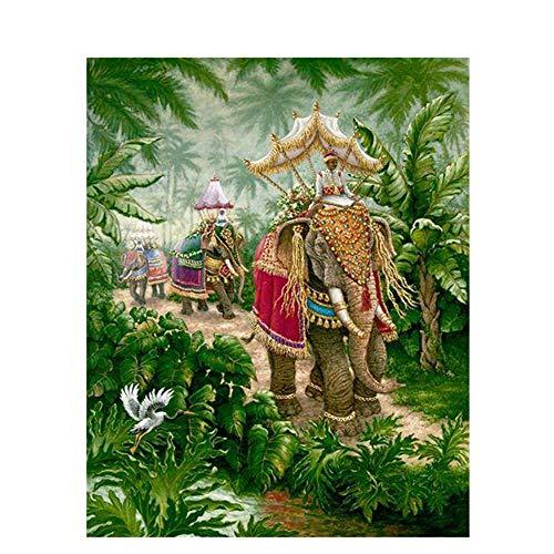 Rompecabezas De Madera Creativos, 1000 Piezas, Elefantes Turísticos, Animales, Adultos, Niños, Juegos...