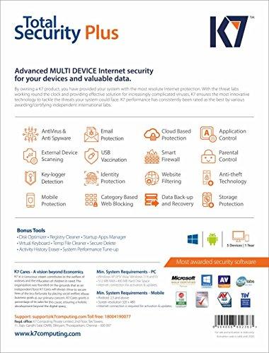 k7 total security plus price