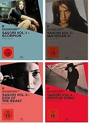 Sasori Scorpion Vol. 1-4 [4 DVDs]