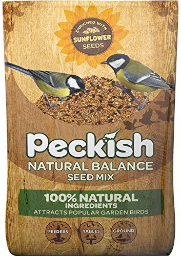 Peckish équilibre Naturel de mélange de graines pour Oiseaux Sauvages, 60051209 12.75 kg doré