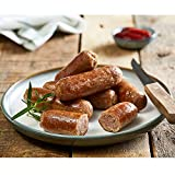 Country Range Frozen Pork Sausages 8s - 1x4.54kg