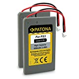 2x PATONA Playstation 3 PS3 Controller Battery LIP1359 | LIP1859 | LIP1472