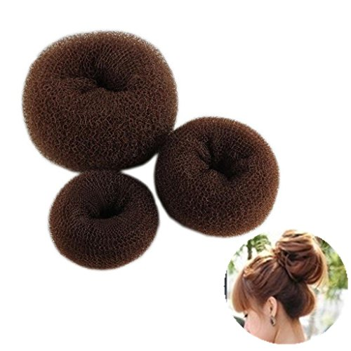 Namgiy Haar Bun Twist Styling-Set Haar Donut Maker Flechten Haargummis Haar Dutt Curler Roller Werkzeug für Schule Arbeit Leben Yoga Tanzen 3