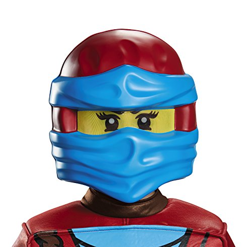 Lego Ninjago 98899 NYA Maske, blau, One Size (Rot Ninjago Kostüm)