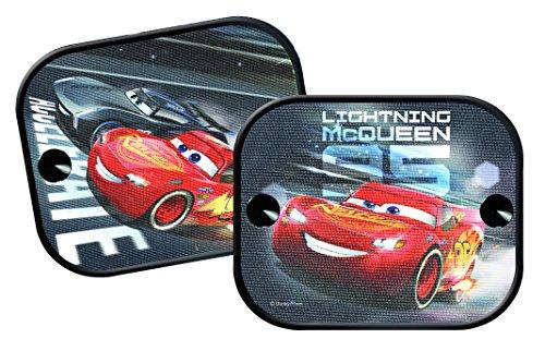 Preisvergleich Produktbild Disney Cars CASAA016 'Cars 3' Sonnenschutz, 2er, Schwarz, Set of 2