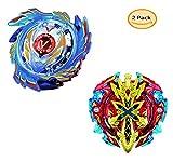 JIENI Burst Beyblade Anfänger Kreatives Geschenkspielzeug Pädagogisches Spielzeug 2 × Kampfausrüstung (B48-B73)
