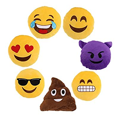 Emoti Cushions Emoticon Pillows Soft Cushion Plush Pillow Cuddly Toy UK Delivery produced by Emoti - quick delivery from UK.