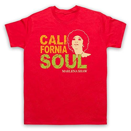 Inspiriert durch Marlena Shaw California Soul Unofficial Herren T-Shirt Rot