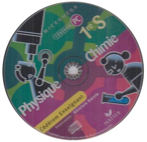 Physique Chimie 1e S : CD-ROM Enseignant par Ghislain Garcia