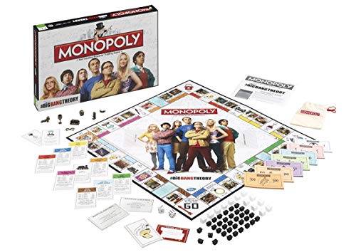The Big Bang Theory Monopoly Brettspiel Standard - Bang Spiel