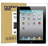 iVoler Verre Trempé Apple iPad 2/3 / 4 9.7 Pouces [Garantie à Vie], Film Protection en Verre trempé écran Protecteur Vitre