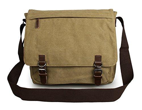 Schulter Bag Lässig Casual Frauen Männer Die Meoaeo Canvas Bag green Männer Single Shoulder wxEHAPFzfq
