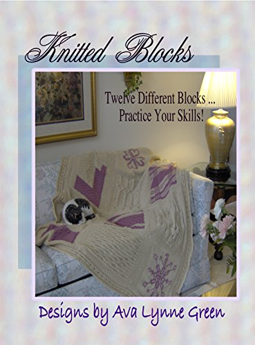 Knitted Blocks: Twelve Different Blocks … Practice Your Skills! (English Edition) (Ava Bag)