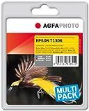 AgfaPhoto APET130TRID Tinte für Epson BX320FW, Multipack, cyan/magenta/gelb