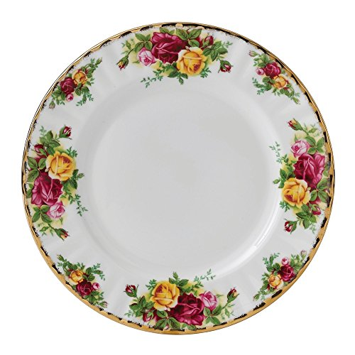 Old Country Roses by Royal Albert Teller, 21 cm Old Country Roses Bone China
