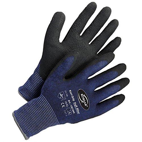 Arbeitshandschuhe Montagehandschuhe Kori-Grip Soft Blue blau-schwarz - Größe 9