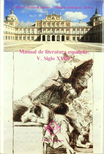 Manual De Literatura Española V - Siglo Xviii