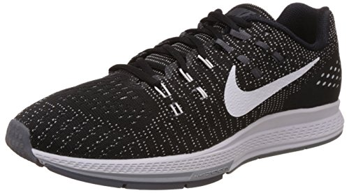 newest d9775 c8492 NikeAir Zoom Structure 19 - Scarpe Running Uomo, Nero (Black White-Dark